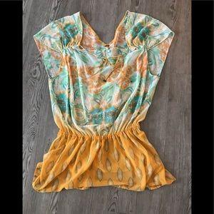 Boho Free People blouse! Worn once!